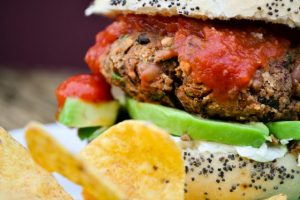 vegan-bean-burger